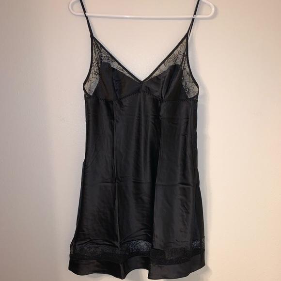 Victoria's Secret Other - Victoria's Secret Black Lace Slip Night Gown